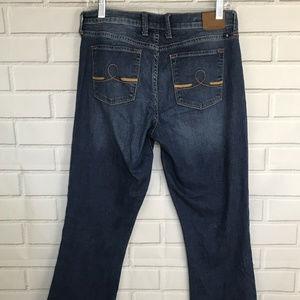 Lucky Brand womens jeans sandblasted sofia boot